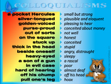 Colloquial Expressions in English