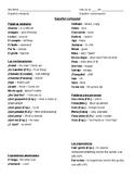 "Colloquial Spanish ""Slang"" Vocab List & Practice"