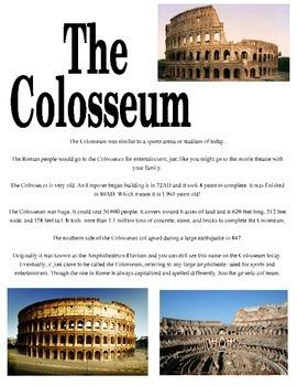 Colloseum Info Sheet