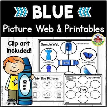 Color Blue Picture Web Activity