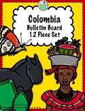Colombia 12 Piece Bulletin Board Set