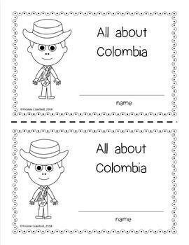 Colombia Country Booklet - Country Study - Interactive and Differentiated