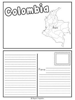 Colombia Booklet Country Study Project Unit Español (Spanish) Edition