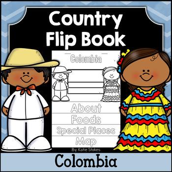 Colombia Flip Book