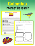 Colombia (Internet Research) - Print + Digital Activity