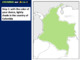 Colombia Map Activity- fun, engaging, follow-along 24-slide PPT