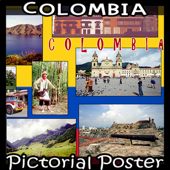 Colombia  Photo Poster - Horizontal