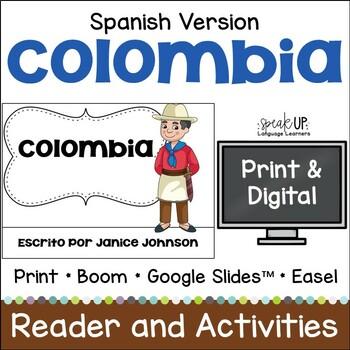 Colombia Reader {en español} & Vocab pages ~ Simplified fo