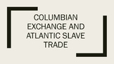 Colombian Exchange: Notes and Research Activity