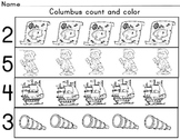 Colombus day count and color