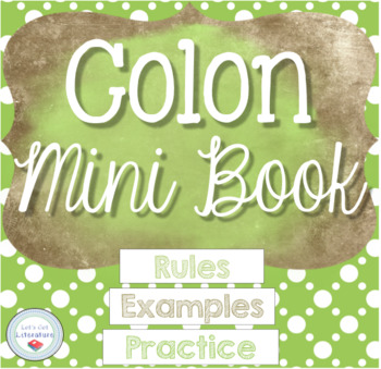 Colons Mini Book