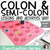 Colon and Semi-Colon - Punctuation Series
