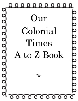 Colonial A - Z Book