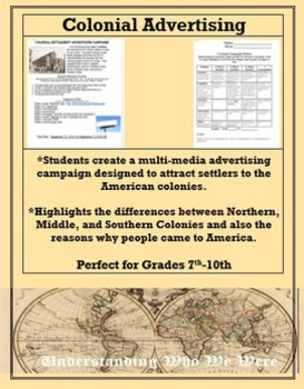 Colonial Advertising Campaign Project by Understanding Who ...