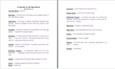 Colonial America - 5 Lesson Pack w/worksheets