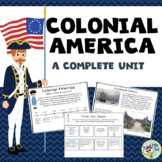 Colonial America:  Boston Tea Party, American Revolution,