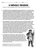 Colonial America: Revolutionary War Informational Reading Test Prep Passage
