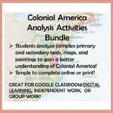 Colonial America Analysis Activities