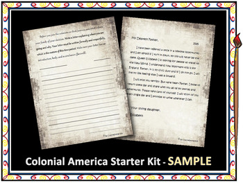 Colonial America - Beginning the Journey