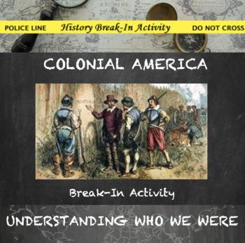 Colonial America Digital Break Out DBQ Activity