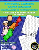 Colonial America Close Reading Passages {Digital & PDF Included}