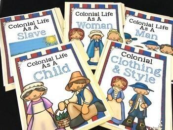 Colonial America Unit {Google Classroom Compatible}