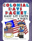 Colonial America Day Celebration Teacher Packet