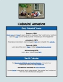 Colonial America HyperDoc
