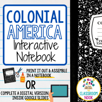 Colonial America (Interactive Notebook)
