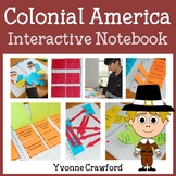 Colonial America Interactive Notebook with Scaffolded Notes