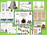 Colonial America Language Pack: Early Settlers & Colonization