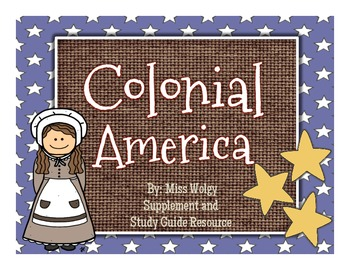 Colonial America-Lapbook