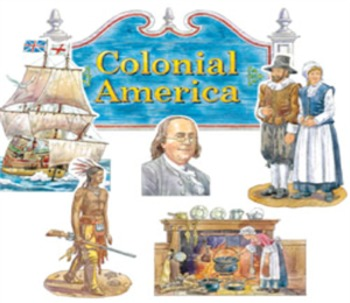 Colonial America ~ Life in the Early Thirteen Colonies ~ Close Activity