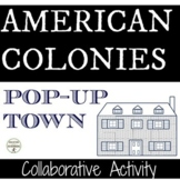 American Colonies Activity Pop-Up Town Project