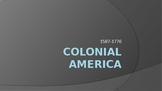 Colonial America Power Point Presentation