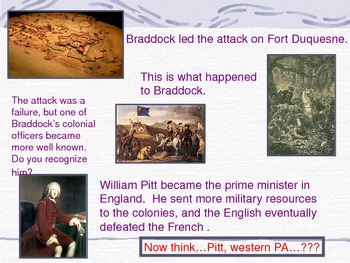 Colonial America PowerPoint Series-A Colonial Home and the French and Indian War