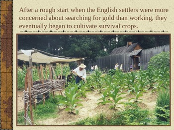 Colonial America PowerPoint Series - Jamestown, 1st Permanent English Settlement