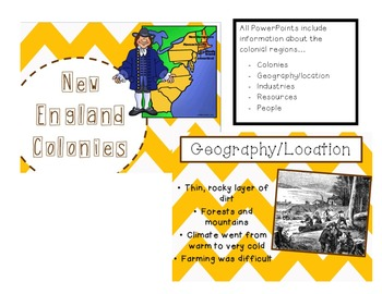 Colonial America PowerPoints