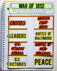 Colonial America-Reconstruction American History Interactive Notebook Bundle