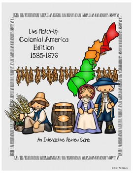 Colonial America Review Matching Game