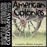 American Colonies Mini Lessons (SS1H1b)