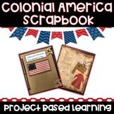Colonial America Scrapbook Project