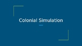 Colonial America Simulation Activity Game