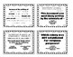 Colonial America Test Review Cards