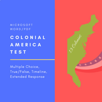 Colonial America Test