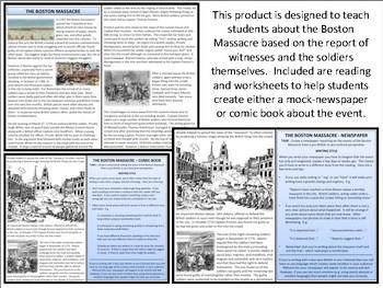 The Boston Massacre - Homework