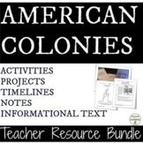 American Colonies unit Bundle