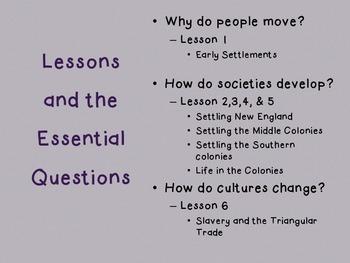 Colonial America Unit 4 McGraw Hill 5th Grade Florida Social Studies