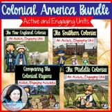 Colonial America Unit Bundle