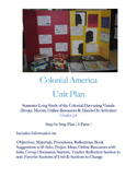 Colonial America Unit, Multi-Sensory Approach to History,